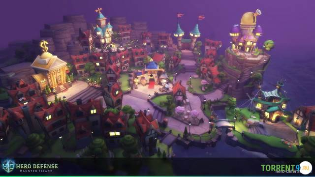 Hero Defense Haunted Island