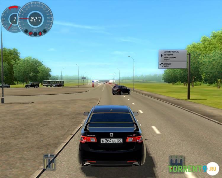 Симулятор вождения автомобиля 2017