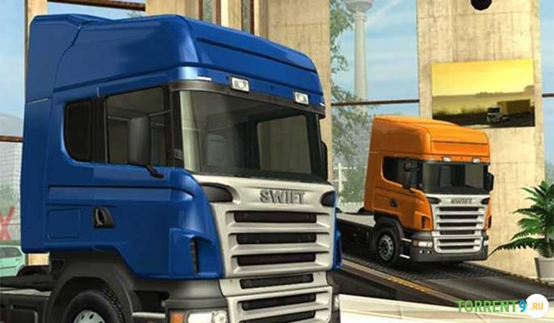 Euro Truck Simulator С грузом по Европе