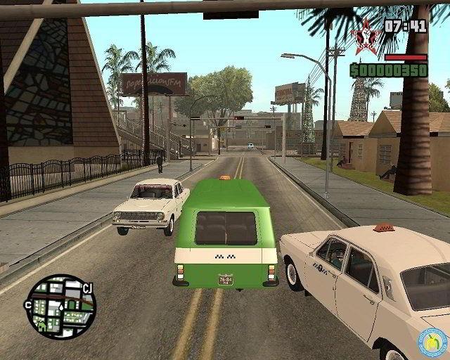 скачать игру Gta San Andreas Russia - фото 9