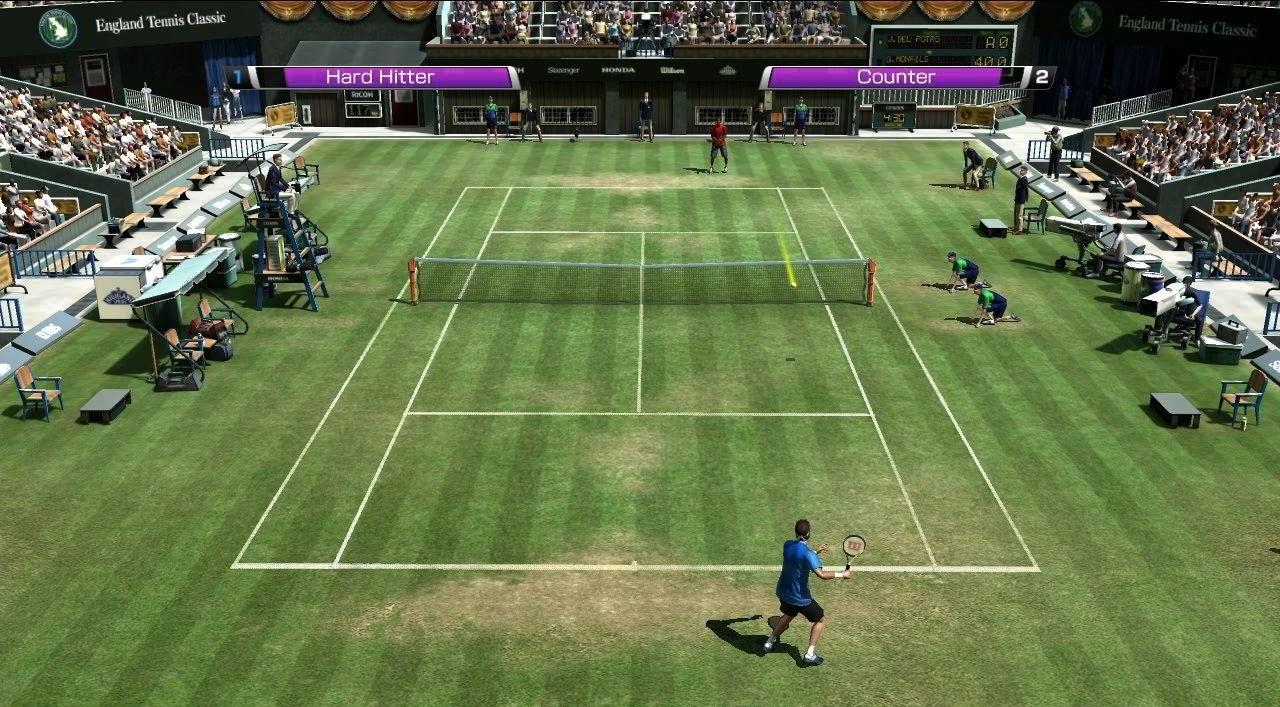 Скачать игры про большой теннис на пк