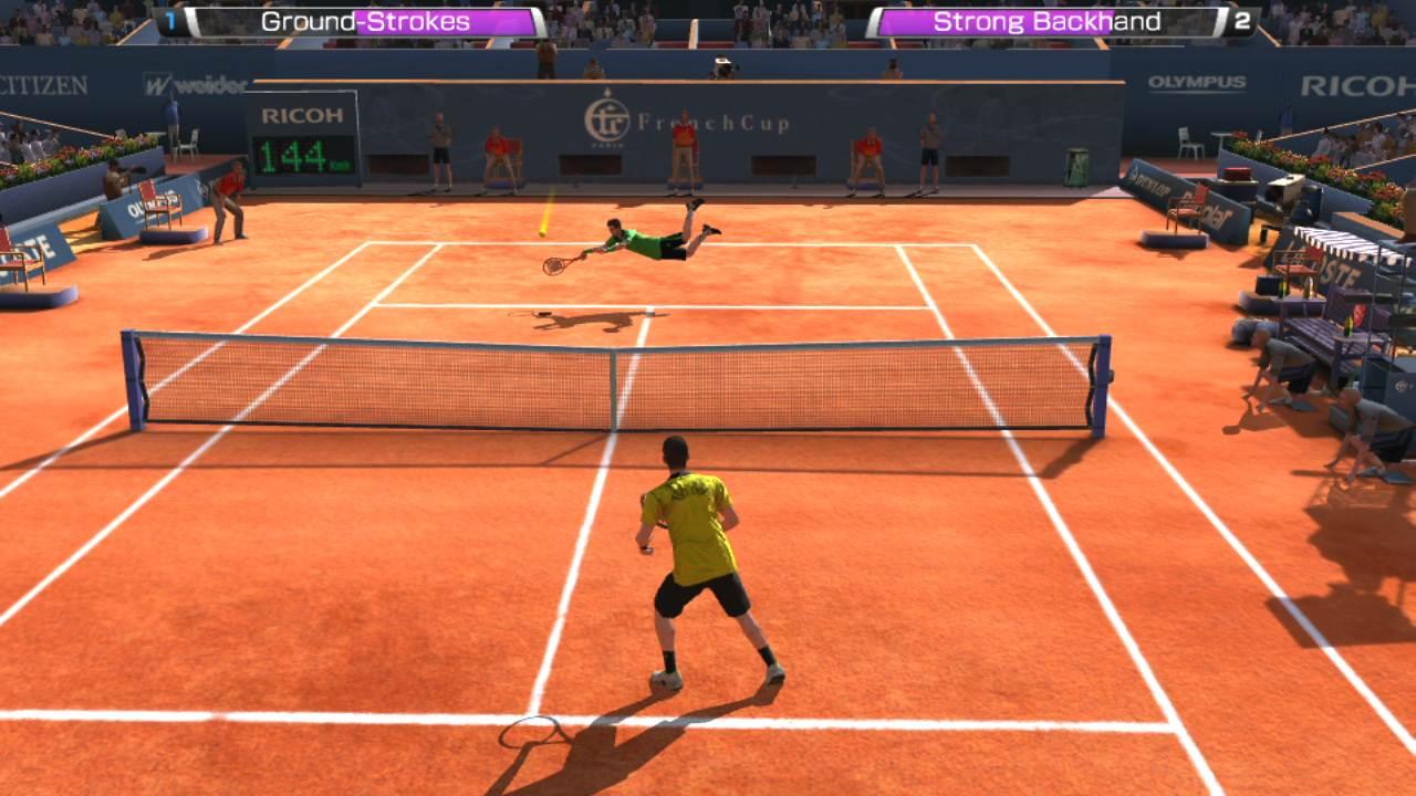 Скачать игру на пк теннис на русском
