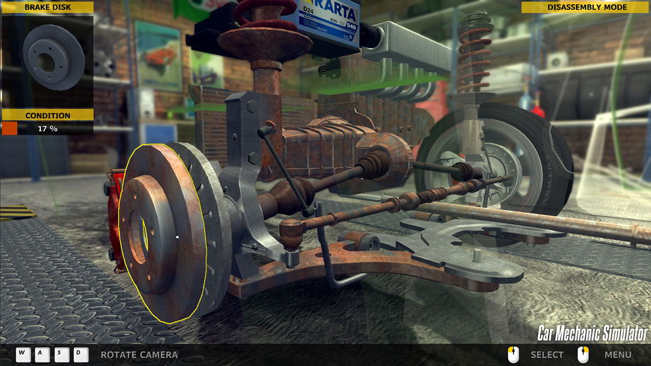 Симулятор по ремонту автомобилей скачать
