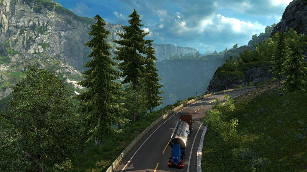 евро трек симулятор в альпах скачать - фото 4