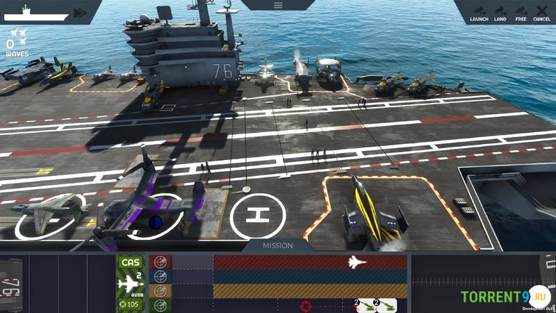 Carrier Deck