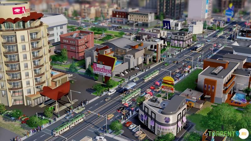 Sims city 6 скачать торрент