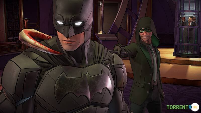 Batman The Enemy Within Episode 1-3
