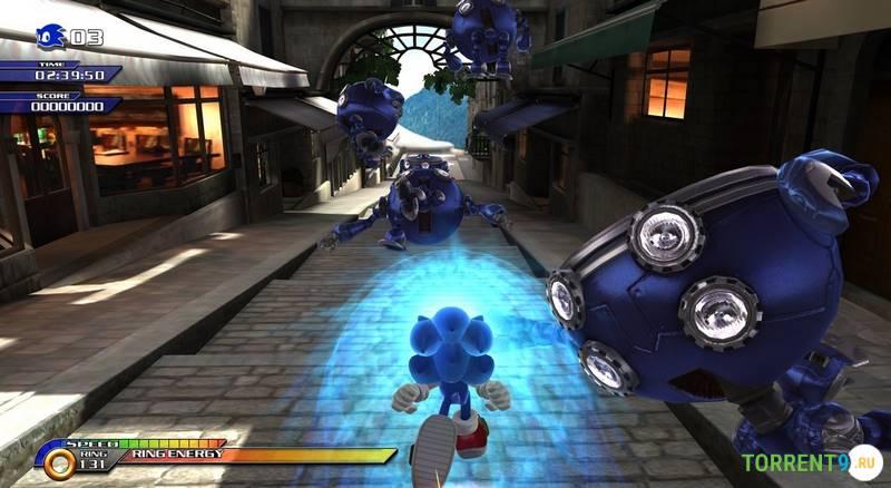 Sonic unleashed скачать торрент pc на компьютер