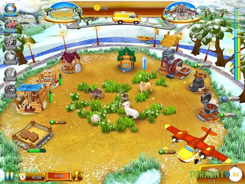Веселая ферма 3. Мадагаскар полная версия бесплатно, скачать.